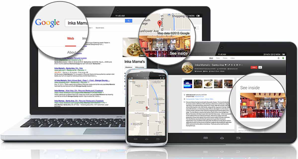 google fotos de negocios